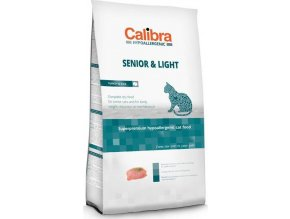 Calibra Cat HA Senior & Light Turkey NOVÝ 2 kg