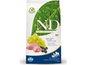 N&D GF DOG Adult Maxi Lamb & Blueberry 12kg