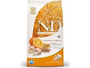 N&D LG DOG Adult Codfish & Orange 800g