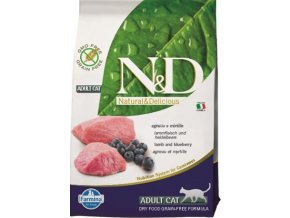 N&D Grain Free Cat Adult Lamb & Blueberry 0,3 kg