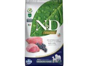 N&D Grain Free Dog Adult Lamb & Blueberry 2,5 kg