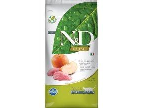 N&D GF CAT Adult Boar & Apple 5kg