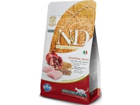 N&D LG CAT Adult Chicken & Pomegranate 5kg