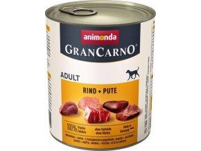 GRANCARNO Adult - hovězí, krůta 800g