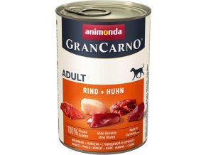 GRANCARNO Adult - hovězí, kuře 400g