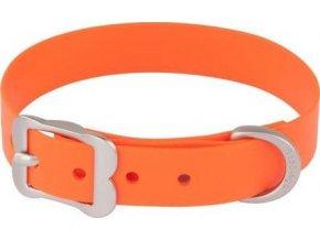 Obojek RD Vivid 12 mm x 20-25 cm - Oranžová