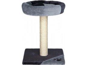 Škrábadlo TARIFA 52cm - šedo/černé