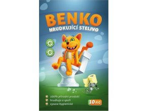 Benko, savé, hrudkující stelivo 10 kg