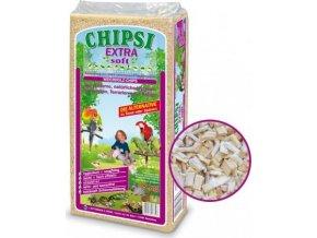 CHIPSI EXTRA SOFT 50 L / 8 kg dřevěné štěpky ze smrk. dřeva