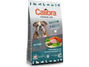 Calibra Dog NEW Premium Senior&Light 3kg