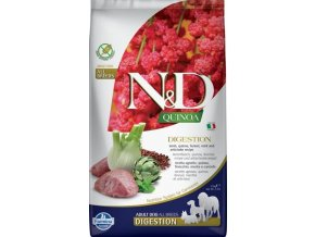 N&D GF Quinoa DOG Digestion Lamb & Fennel 2,5kg