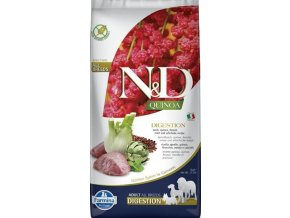 N&D GF Quinoa DOG Digestion Lamb & Fennel 7kg