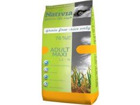 Nativia Dog Adult Maxi Chicken & Rice 15 kg