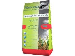 Nativia Dog Active Beef & Rice 15 kg