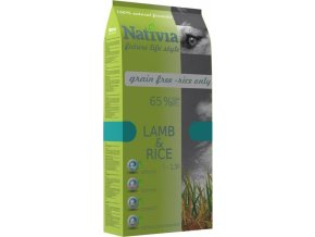 Nativia Dog Adult Lamb & Rice 3 kg
