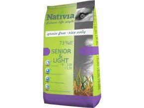 Nativia Dog Senior&Light Chicken & Rice 3 kg