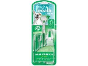 Tropiclean oral kit m l gel s kartacky pro psy 59 ml