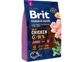 Brit Premium Dog by Nature Junior S 3kg