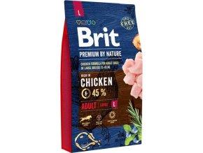 Brit Premium Dog by Nature Adult L 8kg
