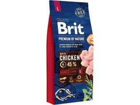 Brit Premium Dog by Nature Adult L 15kg