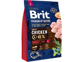 Brit Premium by Nature Dog Adult L 3 kg