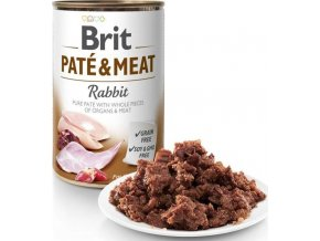 Brit Dog konz Paté & Meat Rabbit 400g
