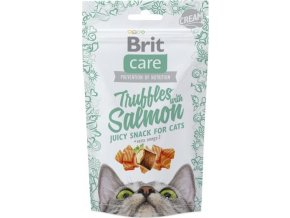 Brit Care Cat Snack Truffles Salmon 50 g