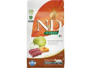 N&D Grain Free Cat Adult Pumpkin Venison & Apple 0,3 kg