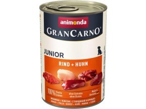 Animonda GranCarno dog konz. Junior - hovězí, kuře 400 g