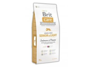 Brit Care Grain Free Dog Senior&Light S & P 12 kg AKCE