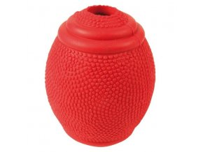 TRIXIE Rugby míč na pamlsky tvrdá guma 8cm