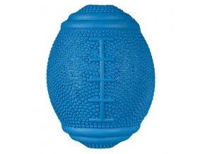 TRIXIE Rugby snack míč na pamlsky přírodní guma 10 cm