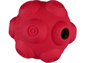 TRIXIE Dog Activity - hrbolatý míč na pamlsky, tvrdá guma 7 cm