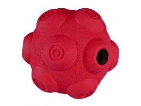 TRIXIE Dog Activity - hrbolatý míč na pamlsky, tvrdá guma 9 cm