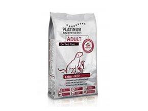 Platinum Natural Adult Lamb&Rice 5 kg