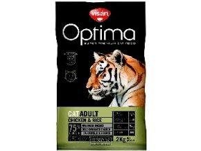 Visán OPTIMA nova CAT ADULT Chicken&Rice 2kg