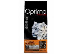Visán OPTIMA nova CAT ADULT Salmon&Rice 8kg
