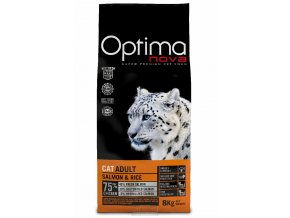 Visán OPTIMA nova CAT ADULT Salmon&Rice 8kg