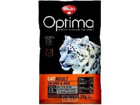 Visán OPTIMA nova CAT ADULT Salmon&Rice 2kg