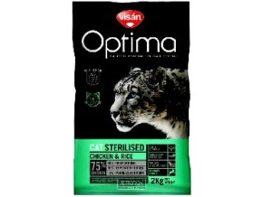 Visán OPTIMA nova CAT ADULT STERILISED 8kg