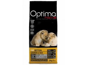 Visán OPTIMA nova CAT KITTEN 2Kg