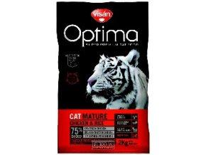 Visán OPTIMA nova CAT MATURE urinary 2kg