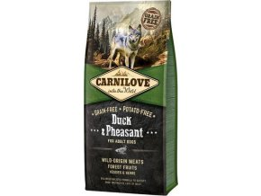 Carnilove Dog Adult Duck & Pheasant Grain Free 12 kg
