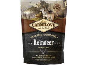 Carnilove Dog Adult Reindeer Grain Free 1,5 kg