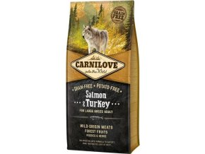 Carnilove Dog Adult Salm.& Turk. Large Breed GF 12 kg