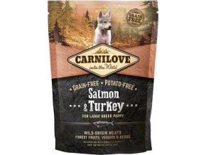 Carnilove Dog Puppy Salm.& Turk. Large Breed GF 1,5 kg