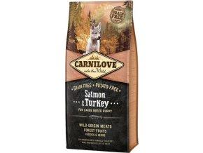 Carnilove Dog Puppy Salm.& Turk. Large Breed GF 12 kg