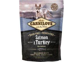 Carnilove Dog Puppy Salmon & Turkey Grain Free 1,5 kg