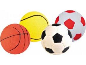 Sortiment míčů, mechová guma 6cm TRIXIE