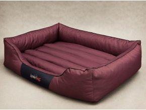Pelíšek pro psa Comfort - bordó L 65 x 50 cm
